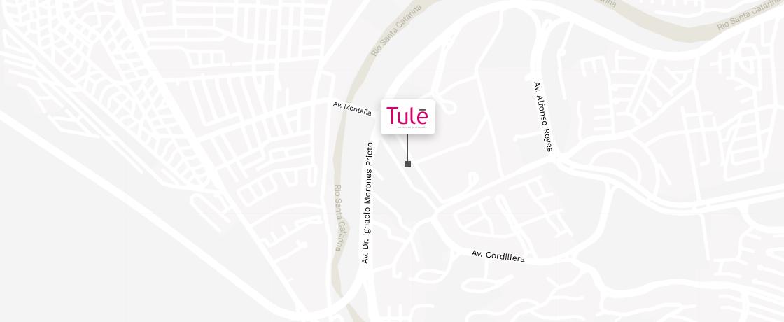 Mapa Tulé - Espacia